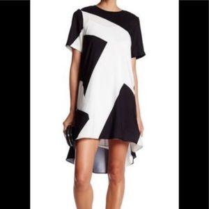 🔥 FINAL SALE Donna Morgan | *In Magenta & White